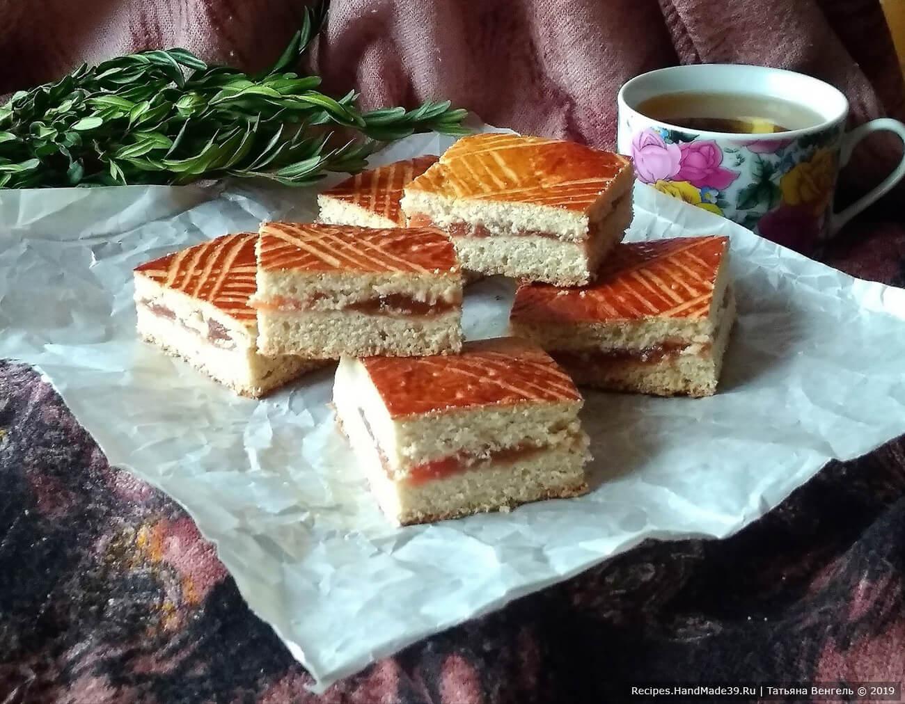 Пряник с начинкой – пошаговый кулинарный рецепт с фото