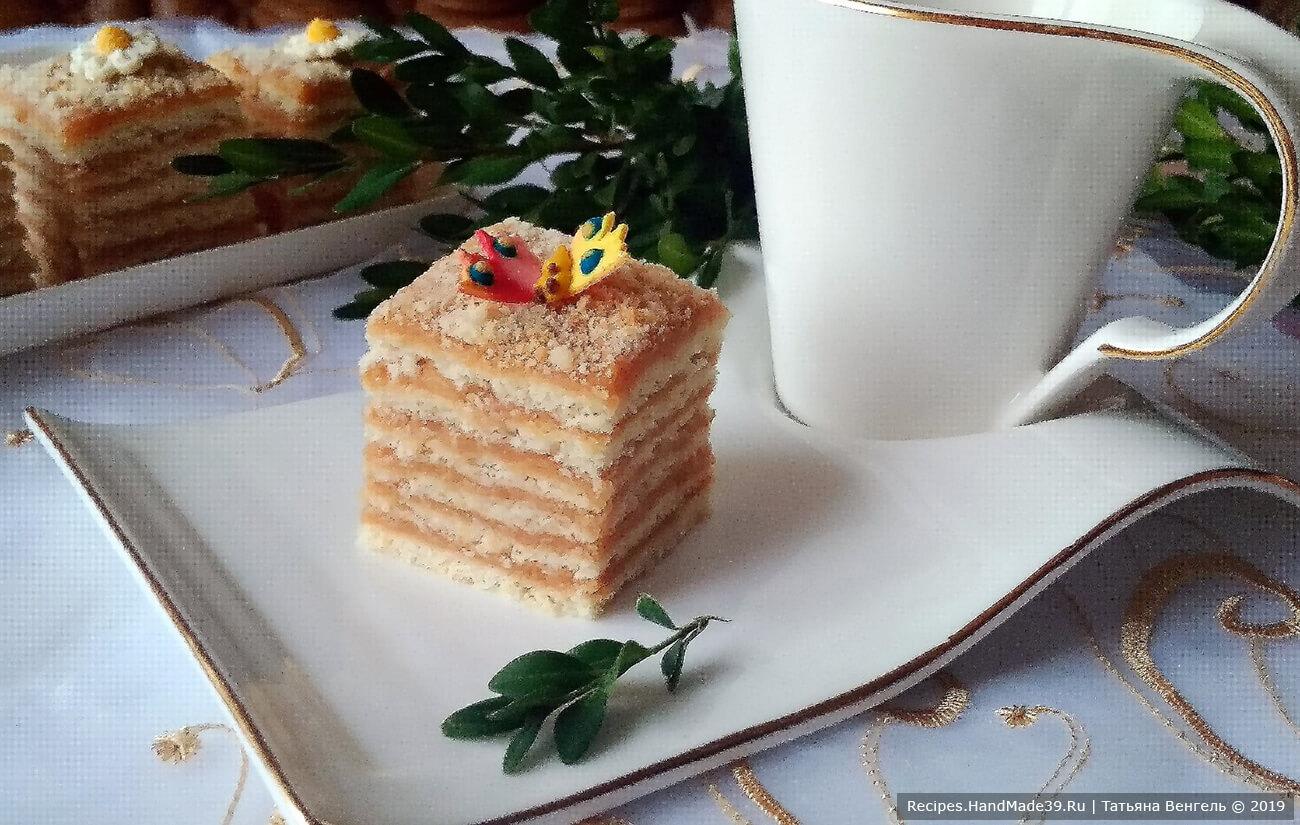 Нежный яблочный торт – пошаговый кулинарный рецепт с фото