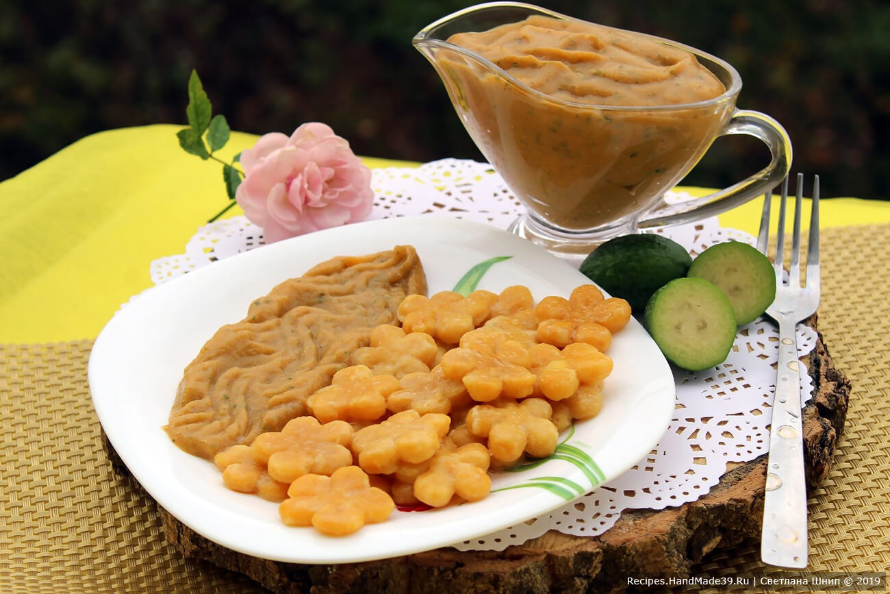 Сладкий фруктовый соус – пошаговый кулинарный рецепт с фото