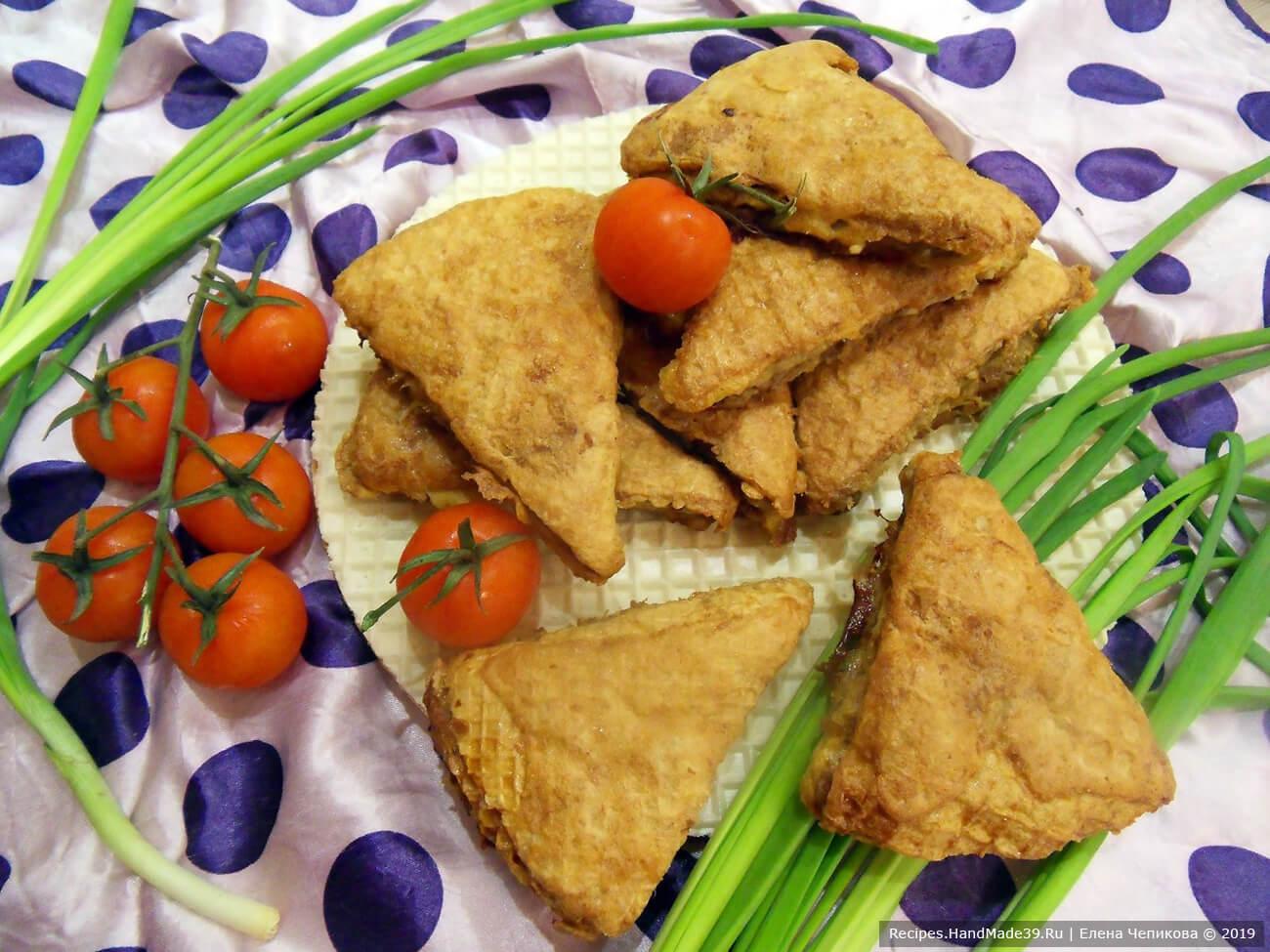 Вафельные котлеты – пошаговый кулинарный рецепт с фото