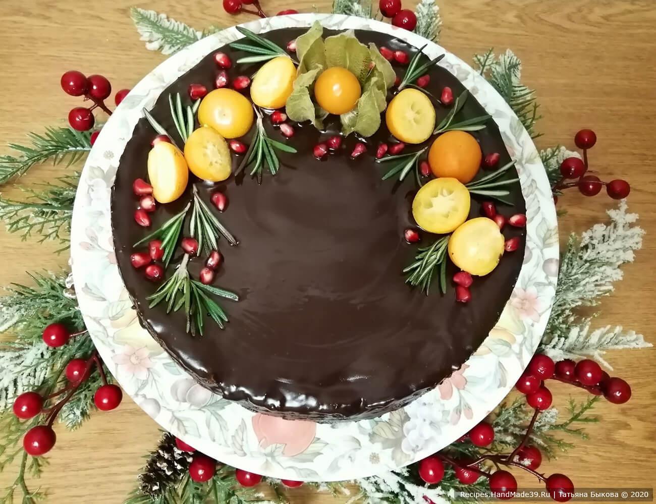 Баумкухен – немецкий «дерево-пирог» с апельсиновым джемом – пошаговый рецепт с фото