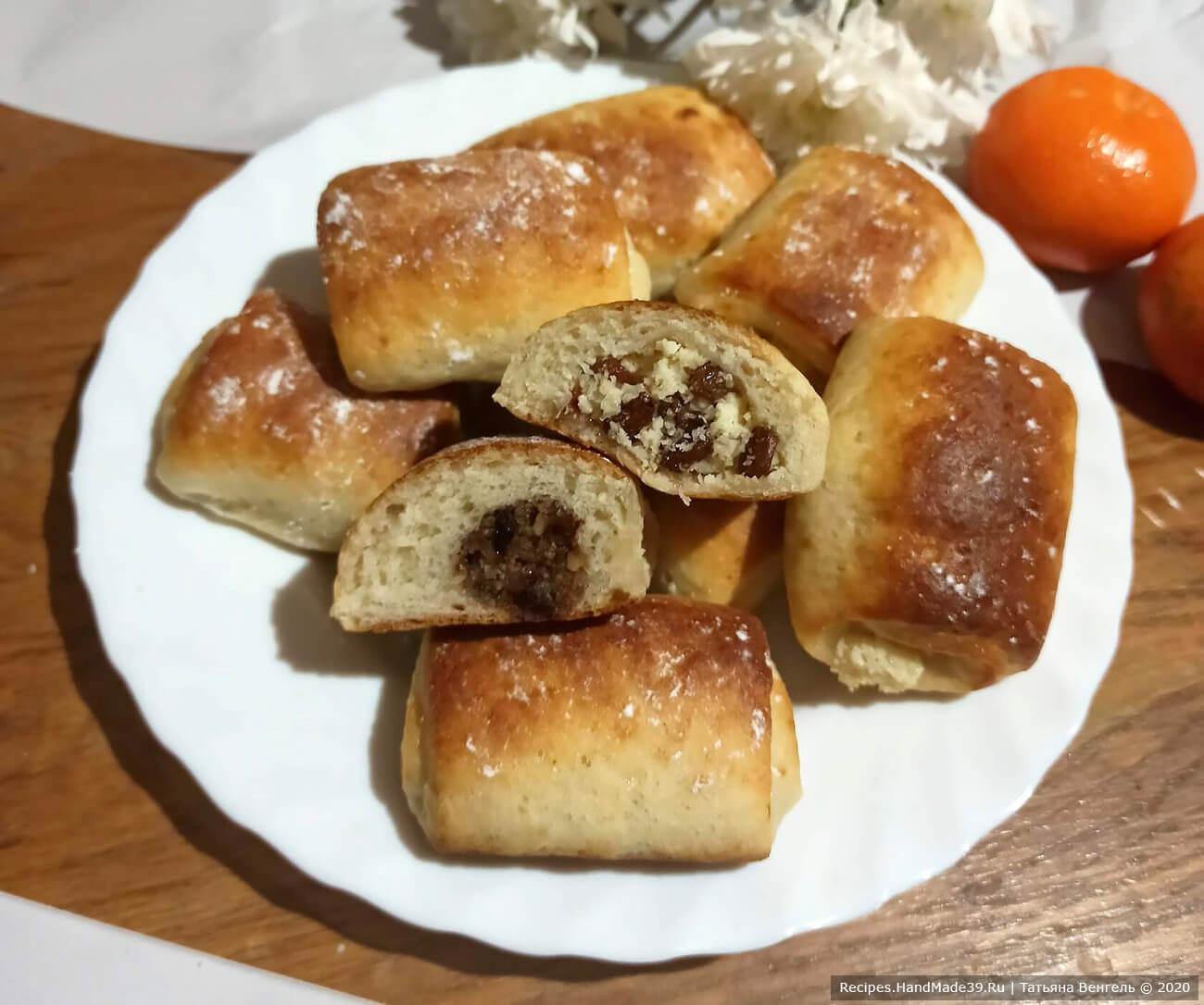 Творожные булочки с начинкой – пошаговый кулинарный рецепт с фото
