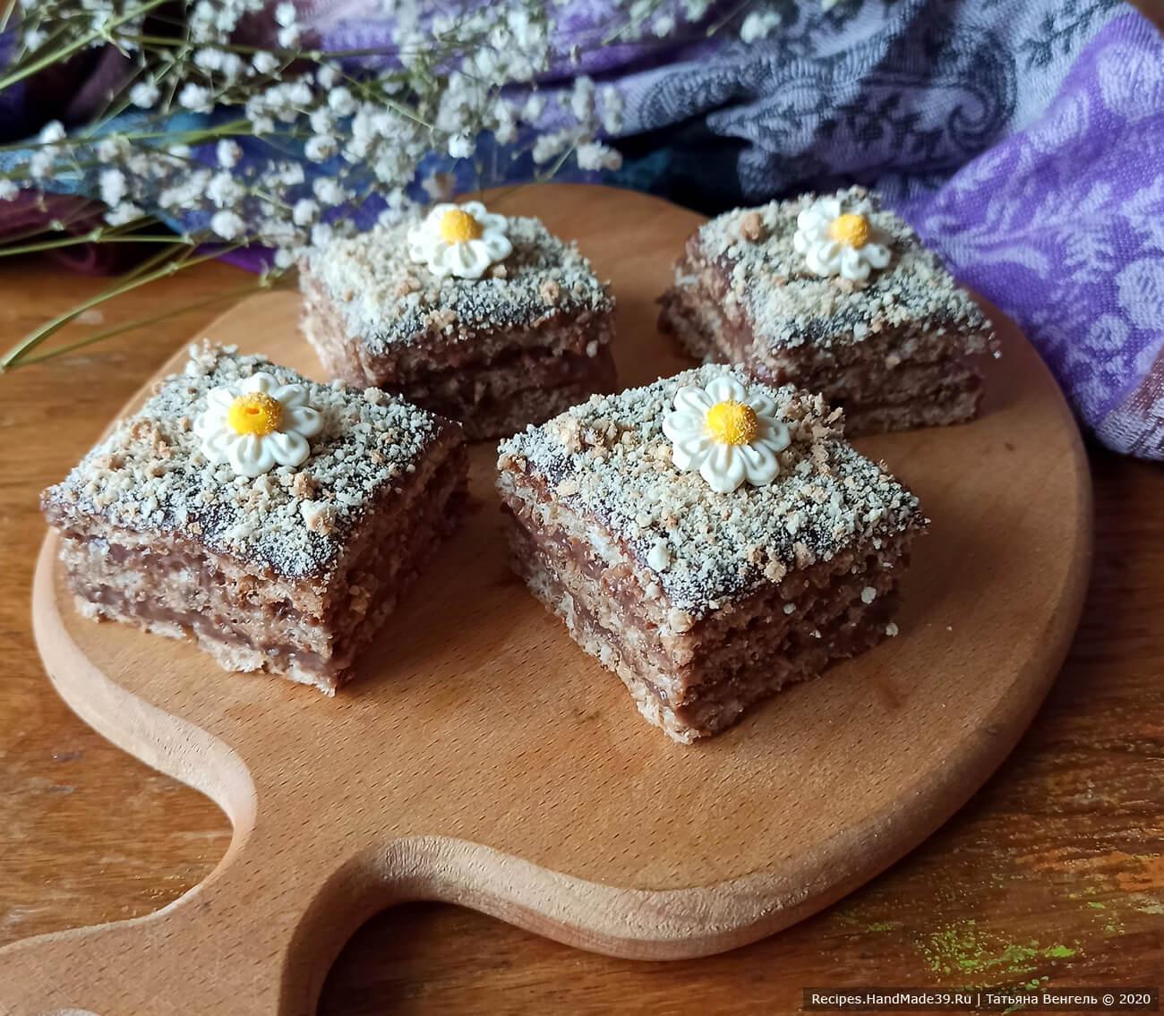 Торт без муки с орехами – пошаговый кулинарный рецепт с фото
