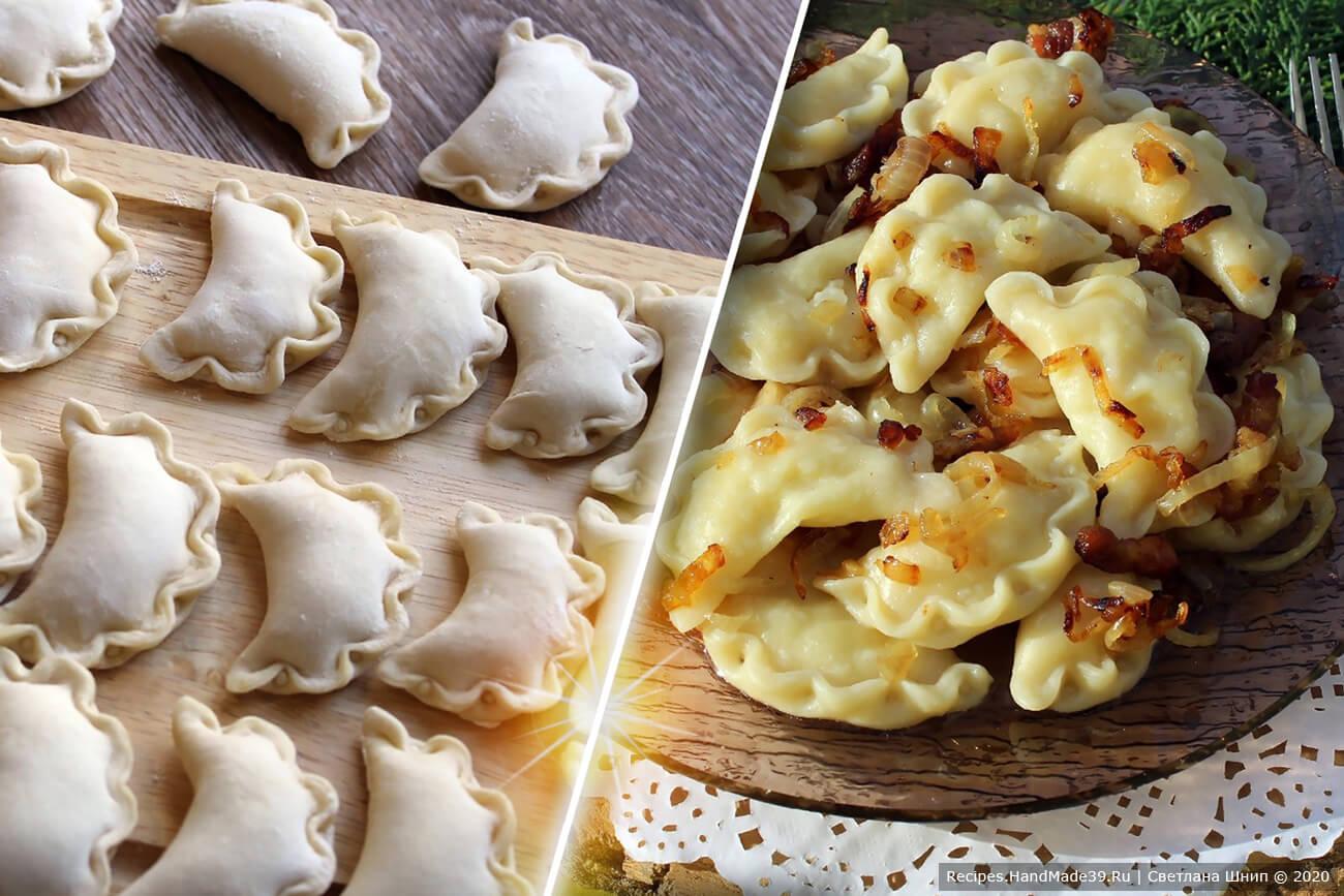 Вареники с картошкой – пошаговый кулинарный рецепт с фото