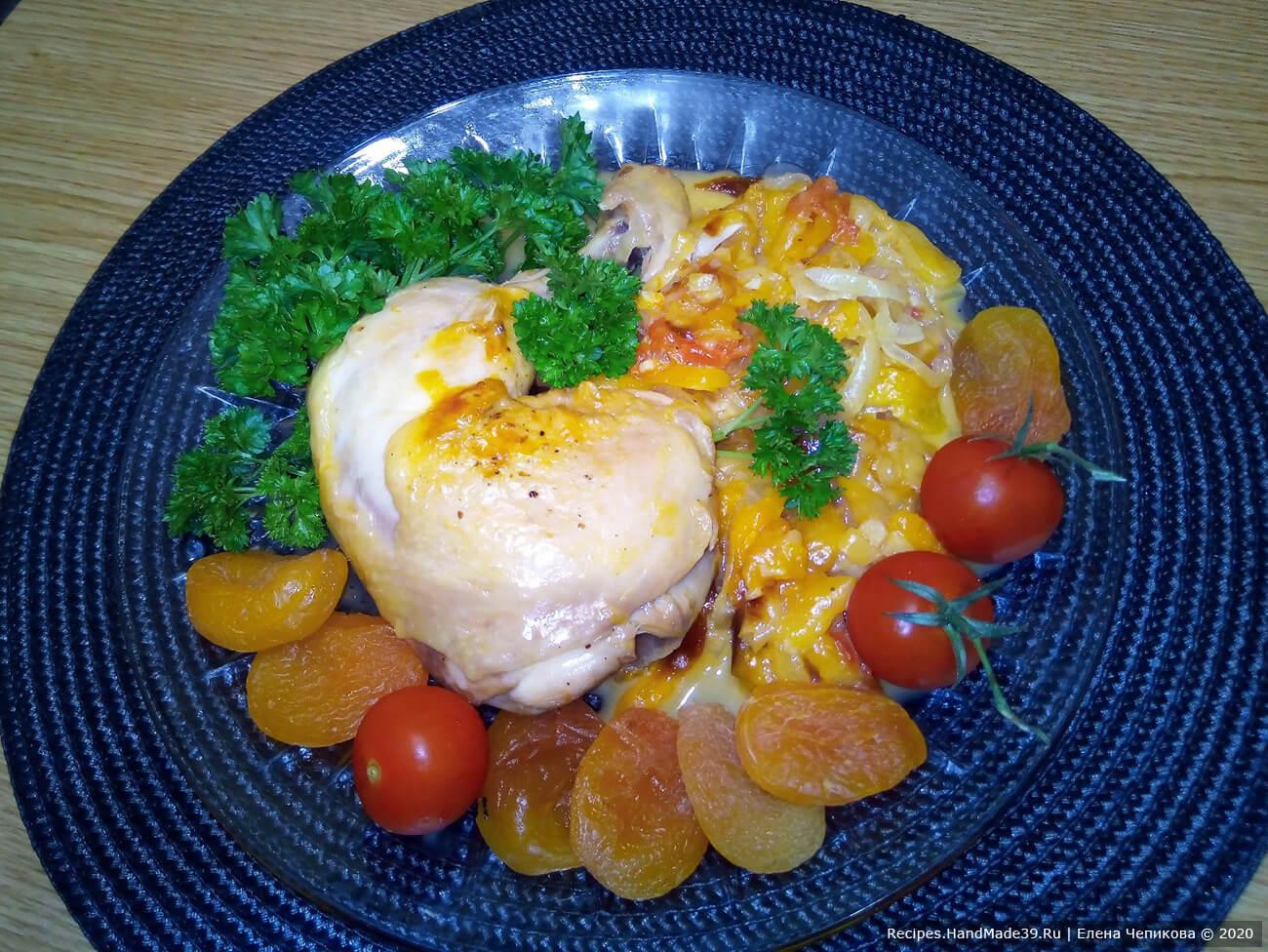 Курица с курагой – пошаговый кулинарный рецепт с фото