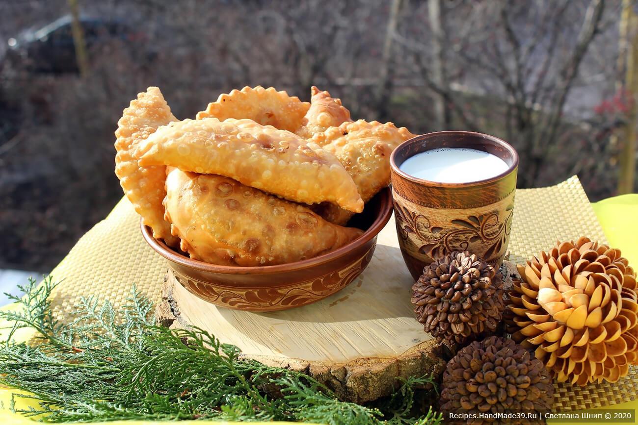 Чебуреки с мясом – пошаговый кулинарный рецепт с фото