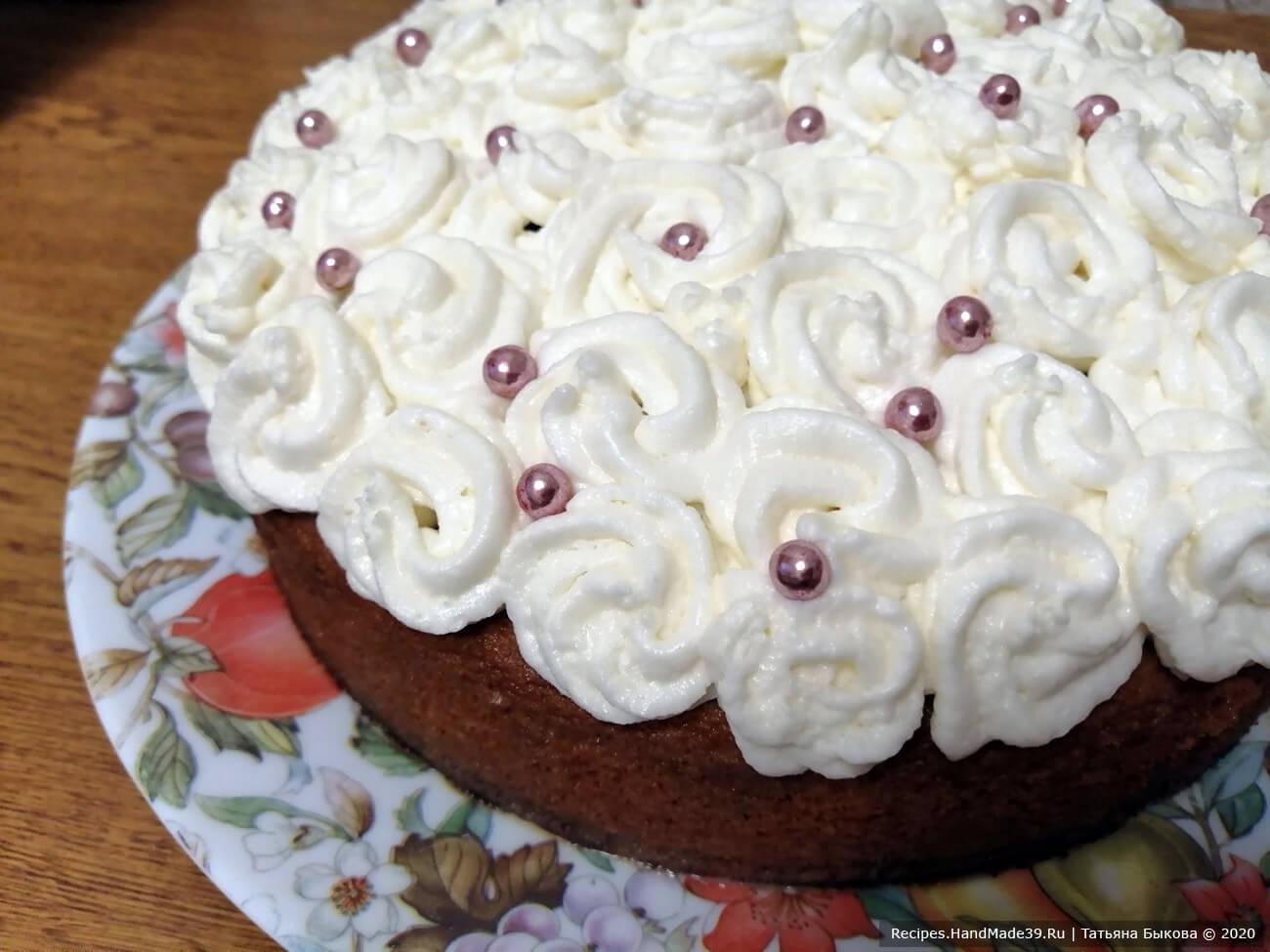 Торт «Три молока» – пошаговый кулинарный рецепт с фото