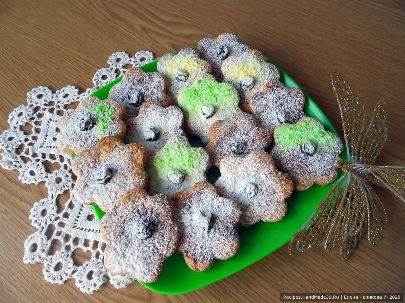Простое печенье из плавленых сырков «Сахарные цветочки» – пошаговый рецепт с видео