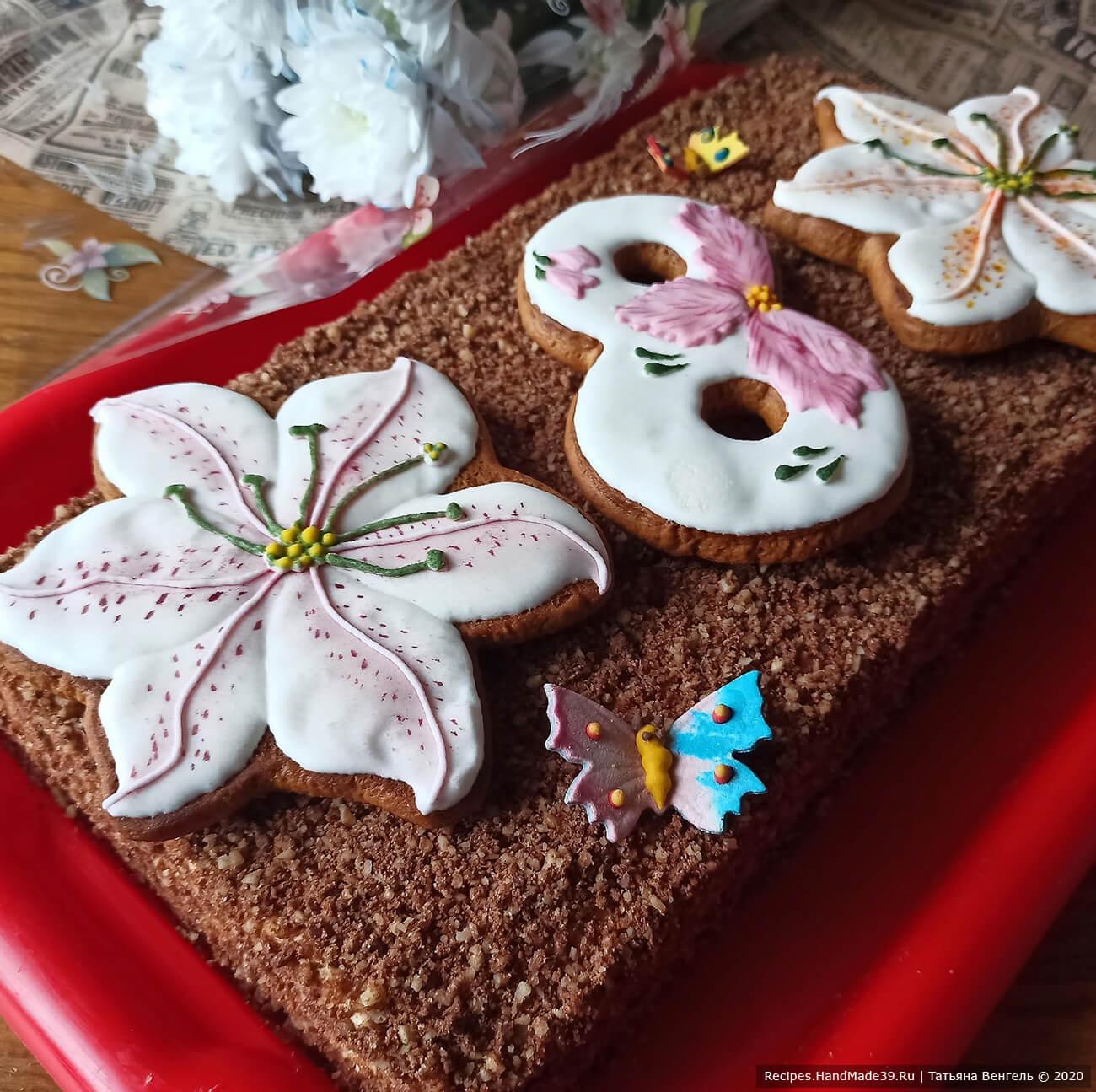 Шоколадный торт медовик «Спартак» без раскатки коржей – пошаговый рецепт с фото