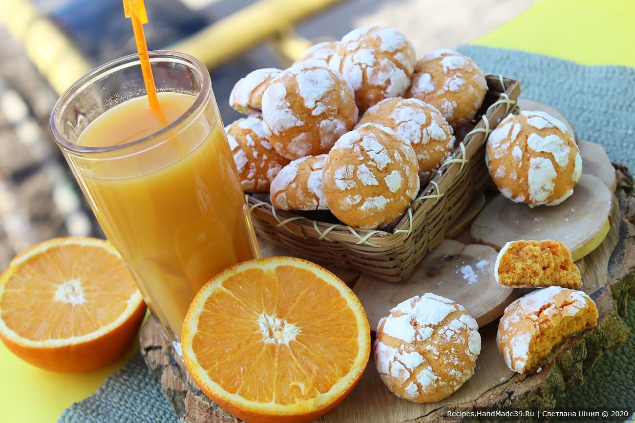 Мраморное апельсиновое печенье «Трещинки» – пошаговый рецепт с фото. Как сделать вкусное печенье с трещинками