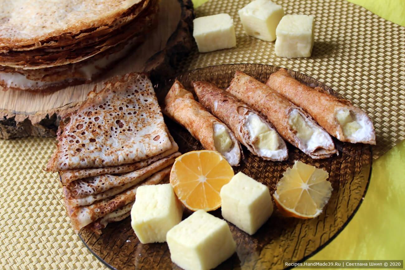 Суфле из смеси сухого пакетика желе – пошаговый рецепт с фото