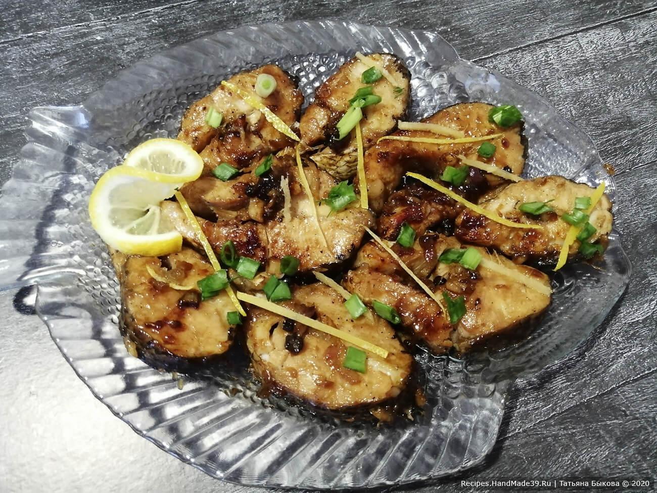 Рыба по-вьетнамски в карамели – пошаговый рецепт с фото. Как вкусно мариновать и карамелизировать рыбу. Рецепты с имбирём и соевым соусом.