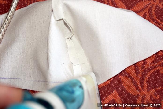 Как сшить медицинскую маску своими руками, шаг 5