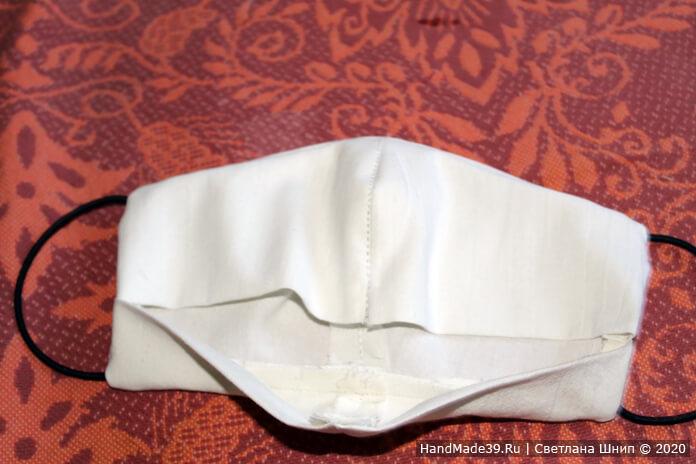 Как сшить медицинскую маску своими руками, шаг 16