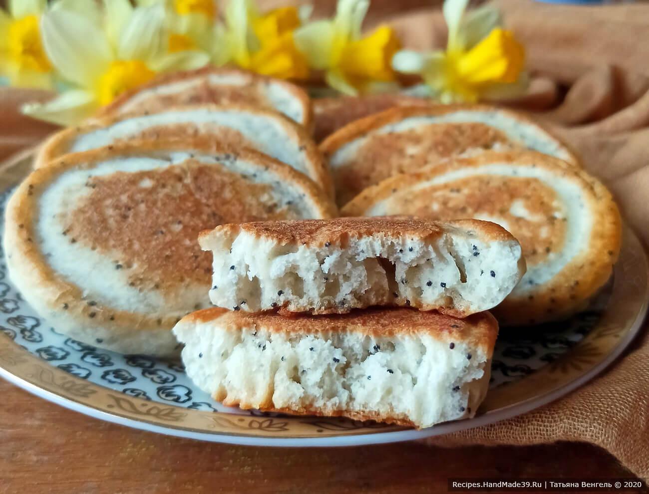 Пышные оладьи – пошаговый кулинарный рецепт с фото