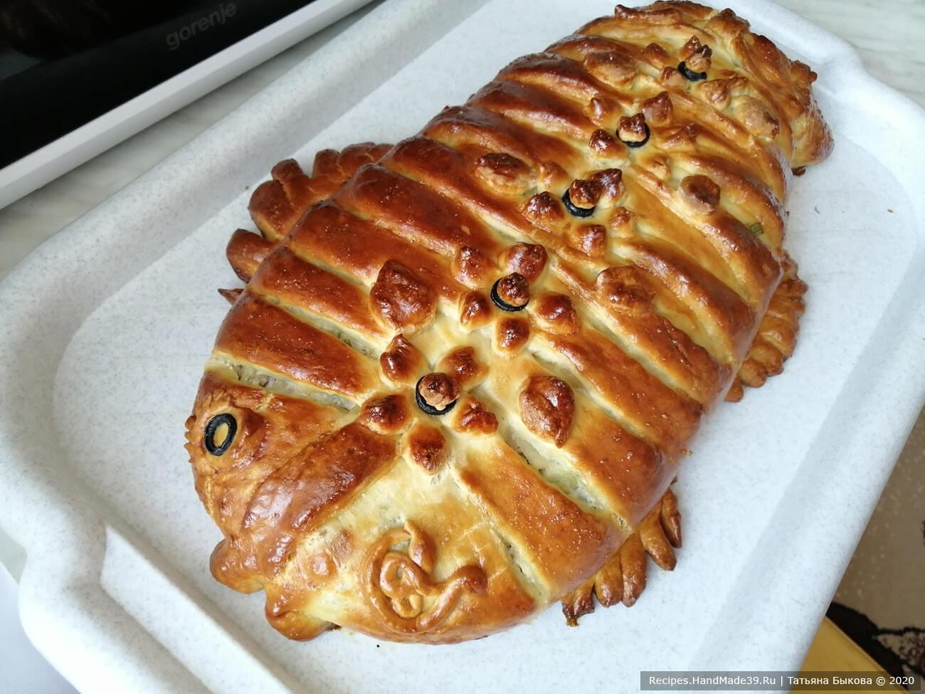 Рыбный пирог из венского теста – пошаговый рецепт с фото