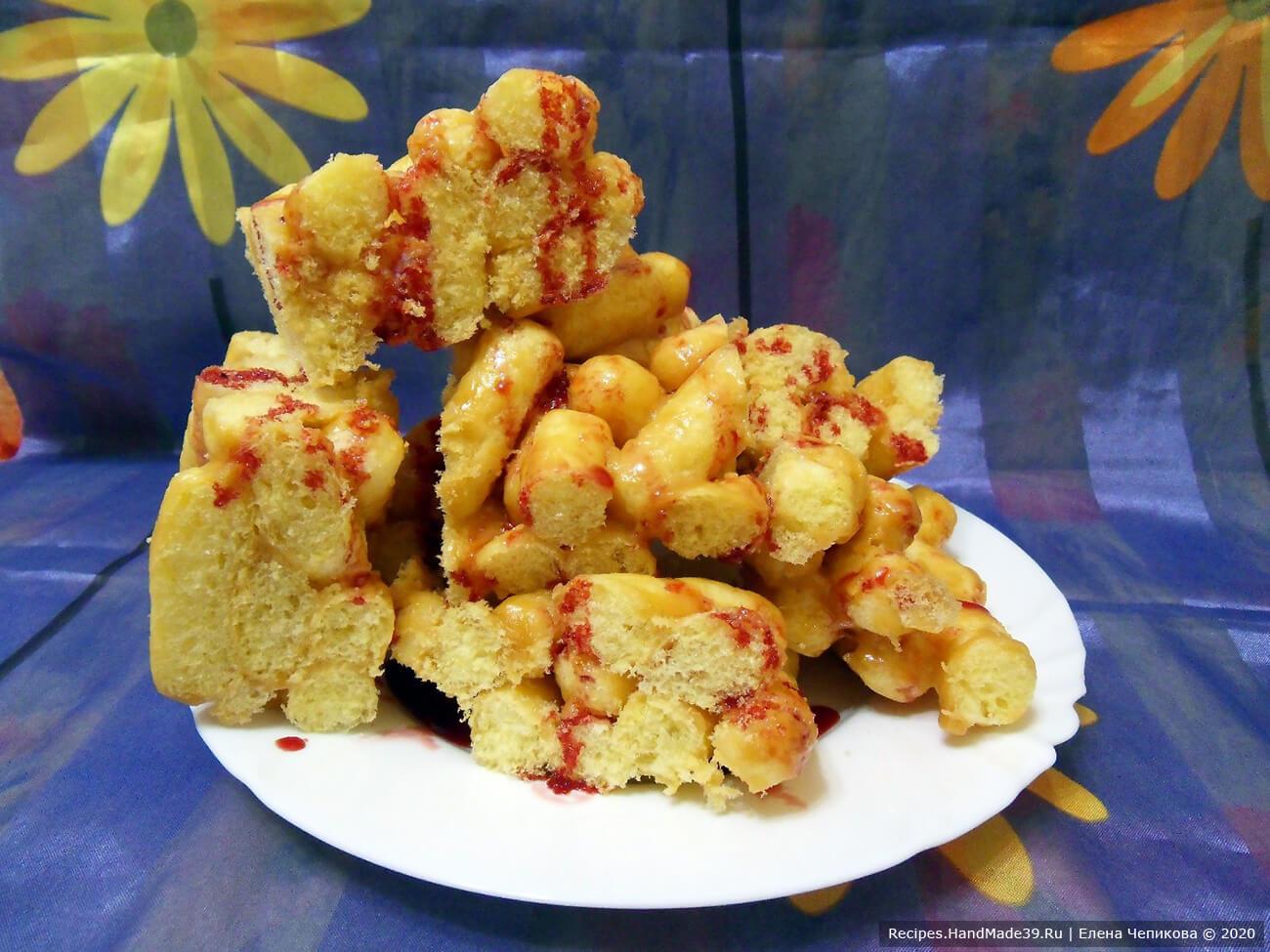 Чак-чак из кукурузных палочек – пошаговый кулинарный рецепт с фото