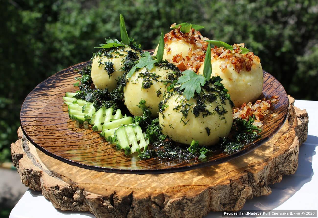 Клёцки по-немецки – пошаговый кулинарный рецепт с фото