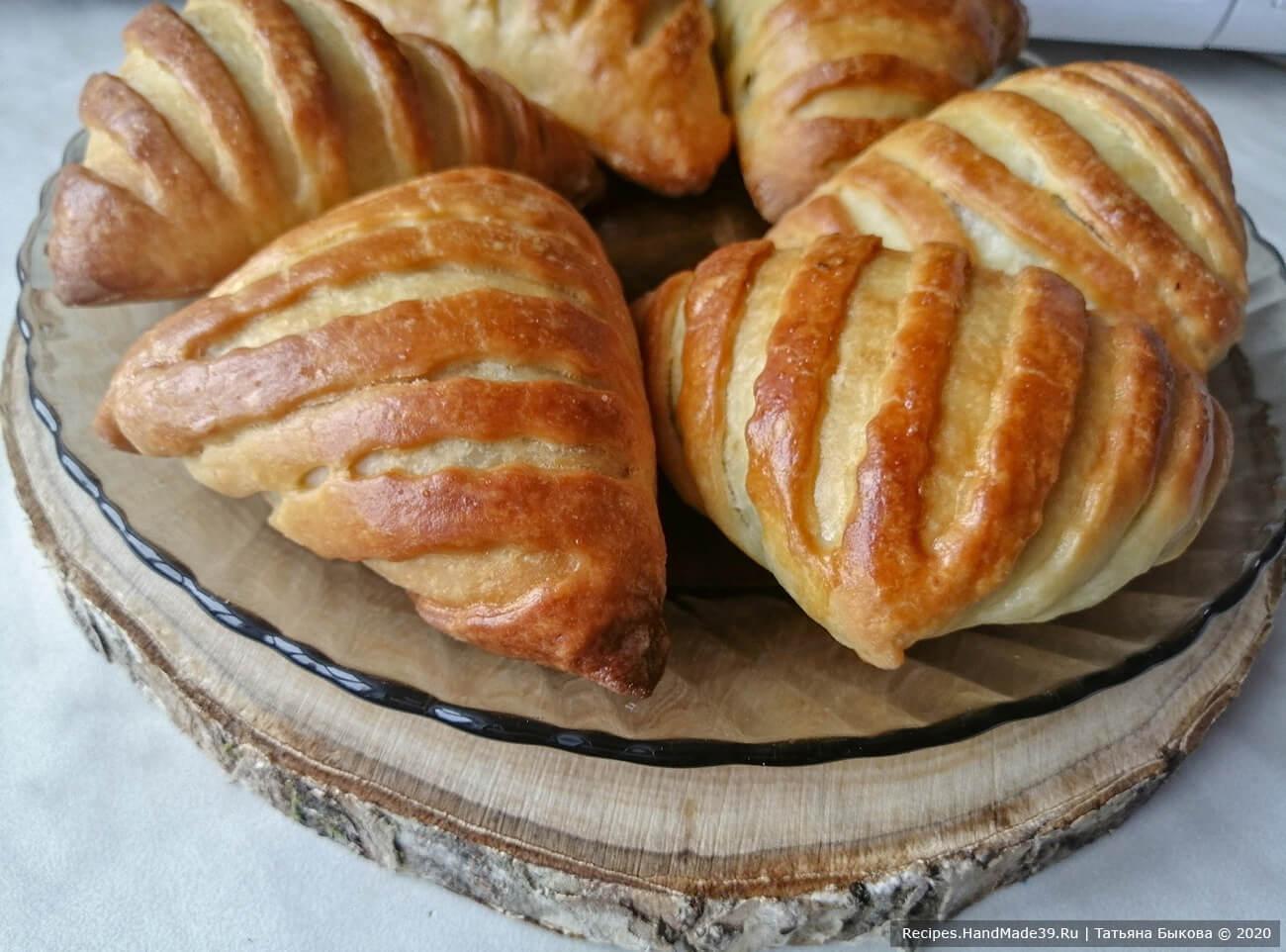 Пирожки с мясом из творожного бездрожжевого теста – пошаговый рецепт с фото