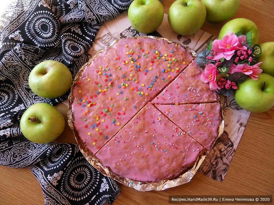 Пирог с морковью, яблоками, творогом – пошаговый кулинарный рецепт с фото