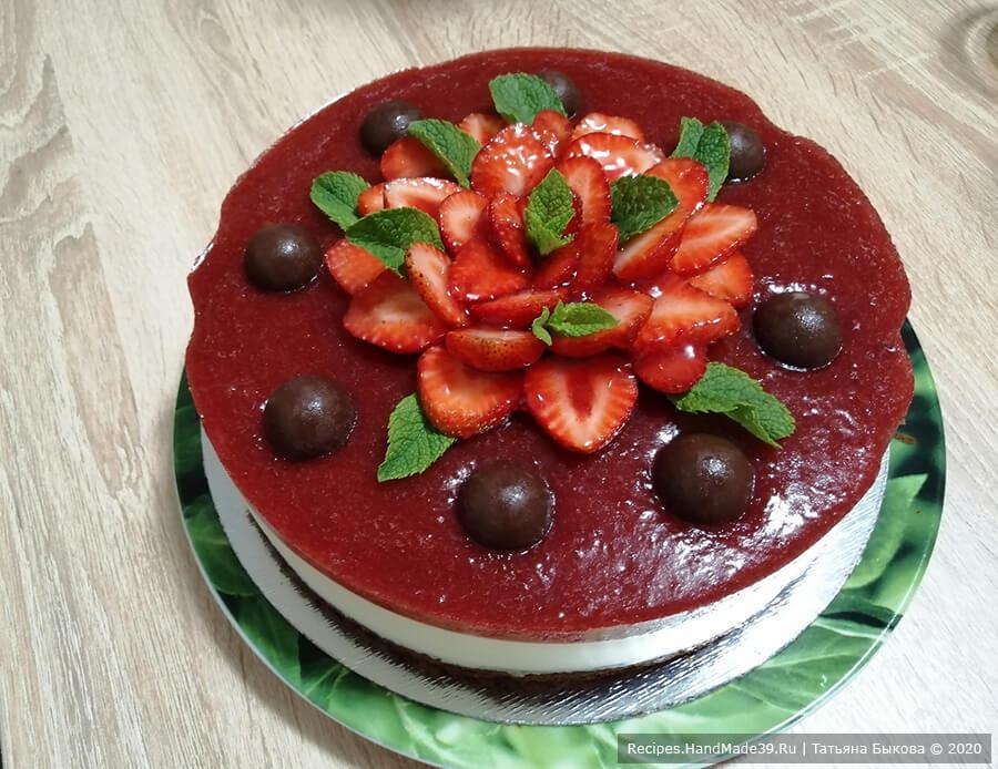 Муссовый торт – пошаговый кулинарный рецепт с фото
