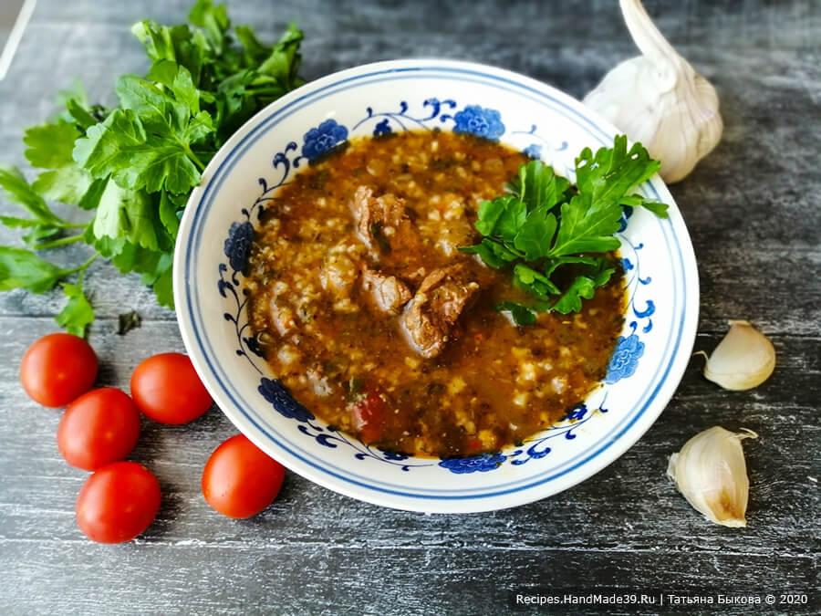 Харчо – пошаговый кулинарный рецепт с фото