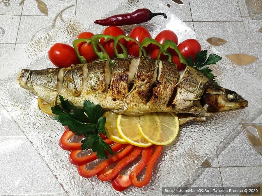 Рыба в медово-чесночном соусе – пошаговый кулинарный рецепт с фото