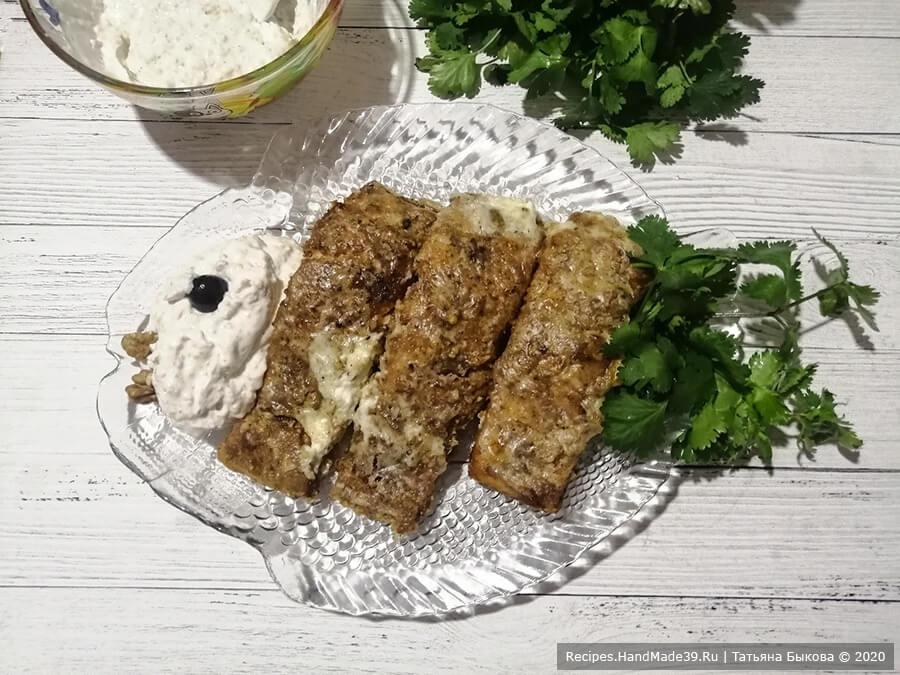 Лосось с орехами – пошаговый кулинарный рецепт с фото
