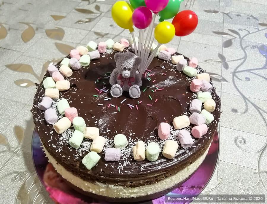 Торт «Баунти» – пошаговый кулинарный рецепт с фото