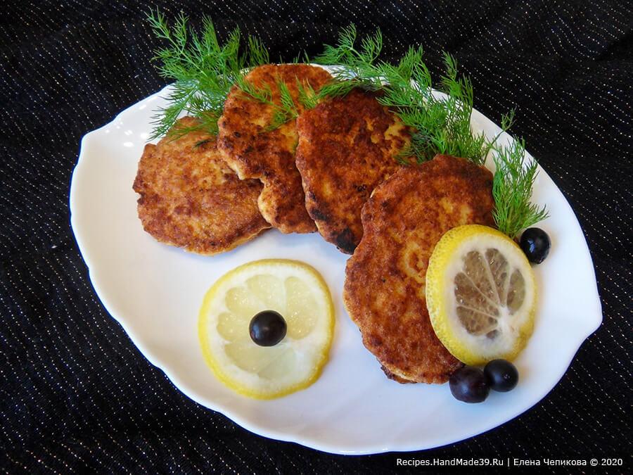 Рыбные оладьи в кляре на кефире – пошаговый рецепт с фото