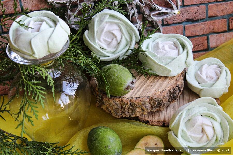 Зефир из фейхоа – пошаговый кулинарный рецепт с фото