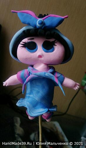 Куклы ЛОЛ из пластилина – фото шаг 9