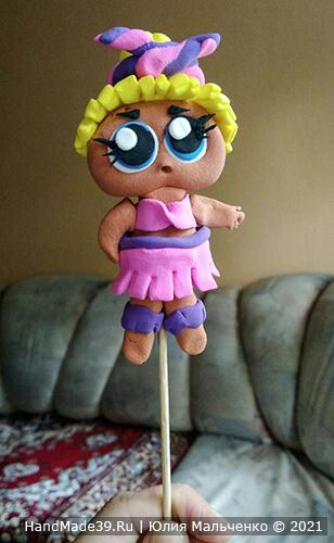 Куклы ЛОЛ из пластилина – фото шаг 13