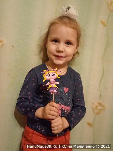 Куклы ЛОЛ из пластилина – фото шаг 15