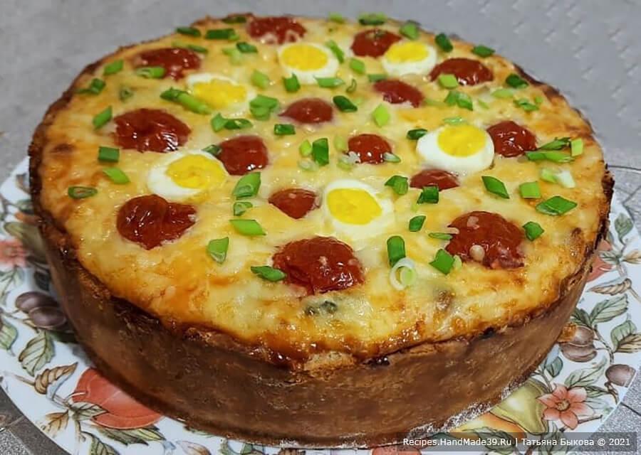Киш с картофельным пюре – пошаговый кулинарный рецепт с фото