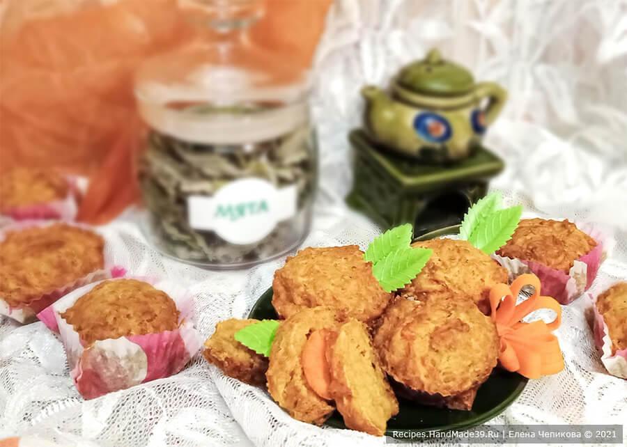 Морковное печенье – пошаговый кулинарный рецепт с фото