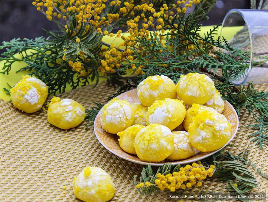 Печенье «Мимоза» – пошаговый кулинарный рецепт с фото