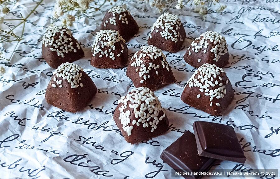 Халва шоколадная – пошаговый кулинарный рецепт с фото
