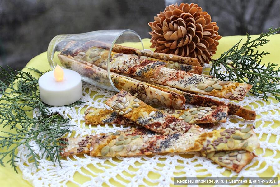 Галетные хлебцы – пошаговый кулинарный рецепт с фото