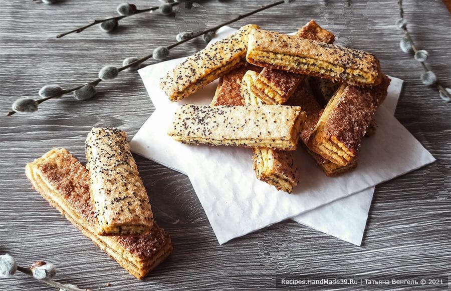 Песочно-слоёное печенье – пошаговый кулинарный рецепт с фото