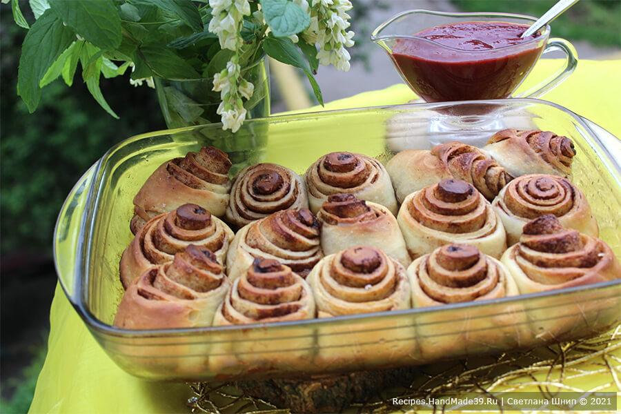 Булочки Синнабон – пошаговый кулинарный рецепт с фото