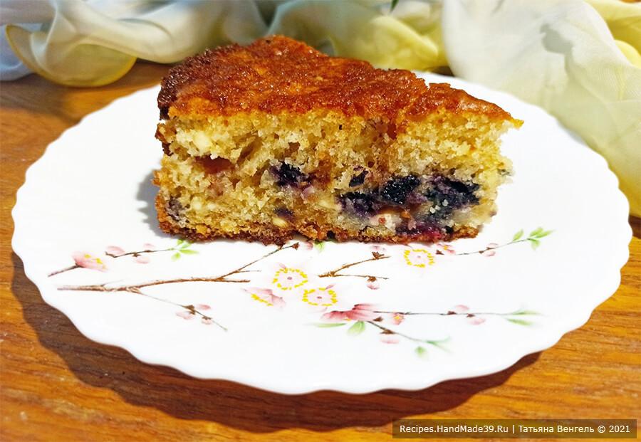 Пирог из творожного теста с ягодами – пошаговый кулинарный рецепт с фото
