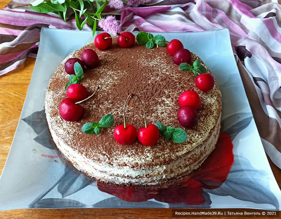 Торт «А-ля тирамису» – пошаговый кулинарный рецепт с фото