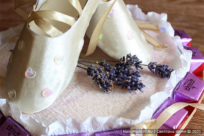 Сладкий подарок учителю танцев – фото шаг 24