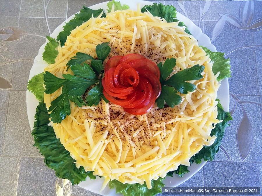 Салат с баклажанами – пошаговый кулинарный рецепт с фото