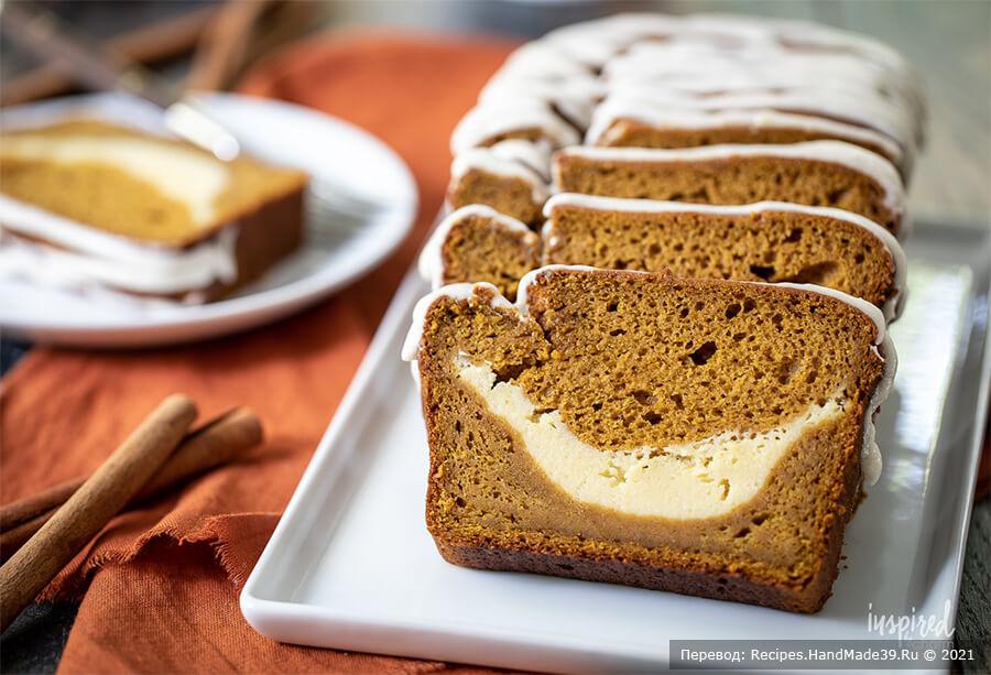 Тыквенный хлеб с начинкой – пошаговый кулинарный рецепт с фото