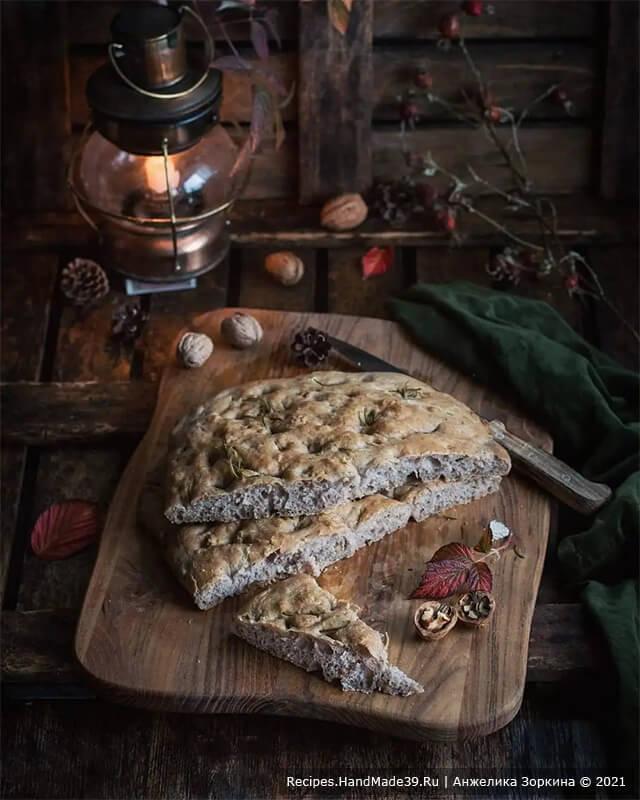 Фокачча с орехами – пошаговый кулинарный рецепт с фото